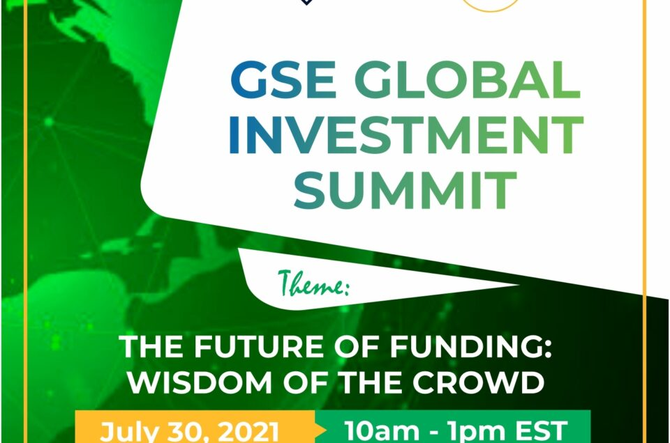 """Global Startup Ecosystem (GSE) Announces Annual """"GSE Global Investment Summit"""" To Prepare Investors for the Future of Tech"""
